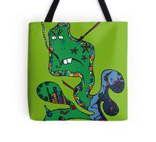 Green squid Tote Bag