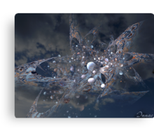 cosmic incident Canvas Print