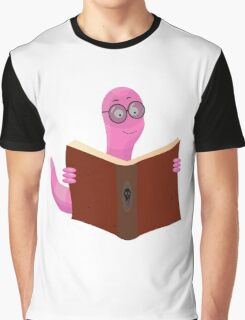 Book Worm Graphic T-Shirt