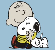 Charlie Brown Loves Snoopy Hug Kids Clothes