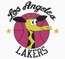 Los Angeles Lakers Giraffe Logo from 1961-62 Season! T-Shirt