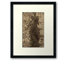 Water fairy Framed Print