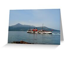 Waverley Paddle Steamer Greeting Card