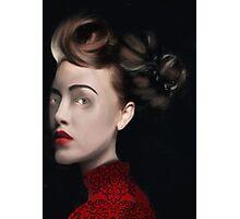 La vie en rouge Photographic Print