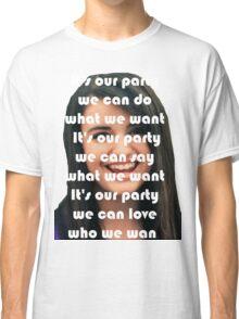 REBECCA BLACK IS BEST REBECCA Classic T-Shirt