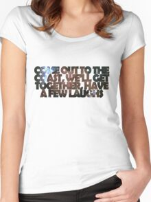 Die Hard - Come Out To The Coast Women's Fitted Scoop T-Shirt