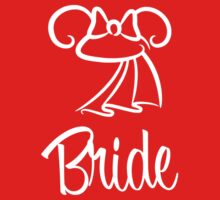 Minnie Mouse Bride Ears by MainStDesigns