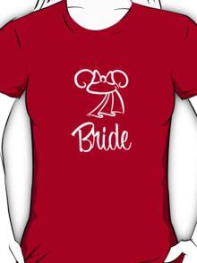 Minnie Mouse Bride Ears T-Shirt