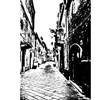 The Tiled Alleyway Photographic Print