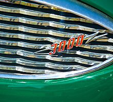 1959 Austin Healey Grill Detail by DaveKoontz