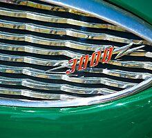 1959 Austin Healey Grill Detail by DaveKoontz