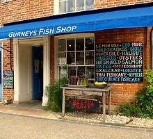 Gurneys Fish Shop by Neville Hawkins