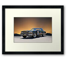 1979 Cadillac 'Opera Coupe' Framed Print