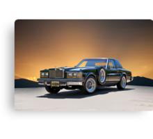 1979 Cadillac 'Opera Coupe' Canvas Print