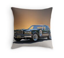 1979 Cadillac 'Opera Coupe' Throw Pillow