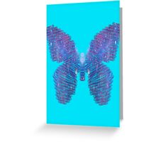 Galaxy Butterfly Greeting Card