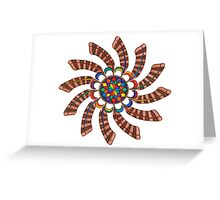 Dreamcatcher Mandala - Card - Full-Color Greeting Card
