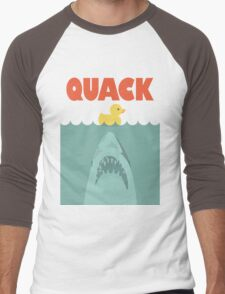 Jaws Rubber Duck 'Quack'  Men's Baseball ¾ T-Shirt