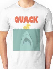Jaws Rubber Duck 'Quack'  Unisex T-Shirt