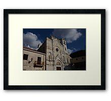 Convento S. Francesco Di Paola Framed Print