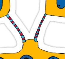 Yellow Giraffe Sticker
