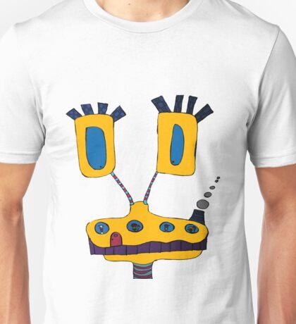 Yellow Giraffe Unisex T-Shirt