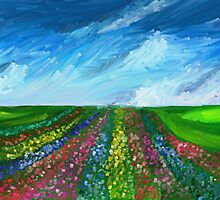 Flowerfield by Richard Eijkenbroek