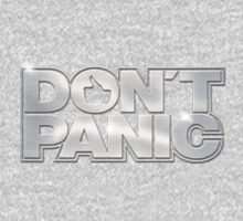 Don't Panic T-Shirt One Piece - Long Sleeve