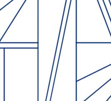 Geometric shapes Sticker