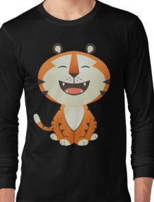 Funny Tiger Long Sleeve T-Shirt