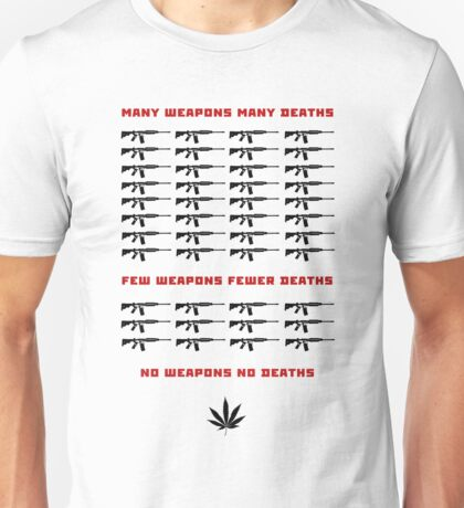 weapon and death Unisex T-Shirt