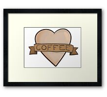 Oh coffee Framed Print
