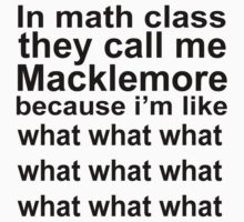 MACKLEMORE  by melezz