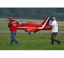 Defence Budget Cuts Scale Down The Red Arrows !! Photographic Print