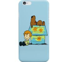 Scooby Doo Peanuts iPhone Case/Skin