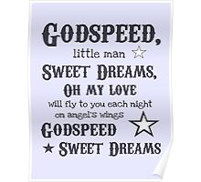 Godspeed, Sweet Dreams Poster Poster