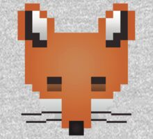 Pixel Fox by TooManyPixels