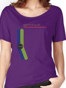 Davisville 1966 station Women's Relaxed Fit T-Shirt