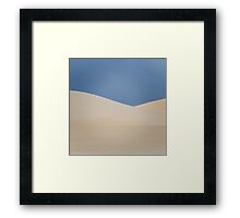 Dune layers Framed Print