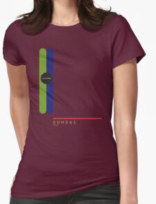 Dundas 1966 station Womens Fitted T-Shirt