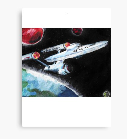 Where No Man Has Gone Before Canvas Print