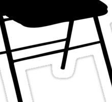 Not My Chair Not My Problem | FreshThreadShop Sticker