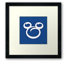 Mickey Blues Framed Print