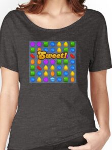 Sweet Candy Crush saga game Women's Relaxed Fit T-Shirt