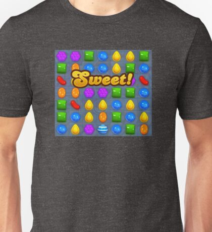 Sweet Candy Crush saga game Unisex T-Shirt