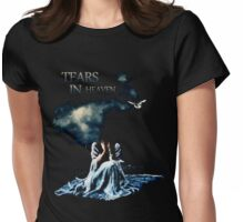 Tears in Sky Womens Fitted T-Shirt