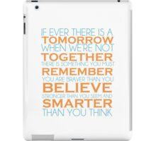 You Are Braver iPad Case/Skin