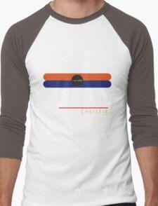 Christie 1966 station Men's Baseball ¾ T-Shirt