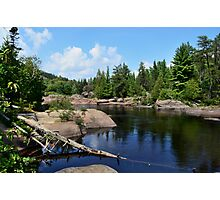 Onaping Falls Northern Ontario  Photographic Print