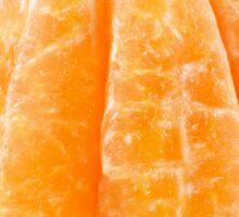 Peeled tangerine Sticker